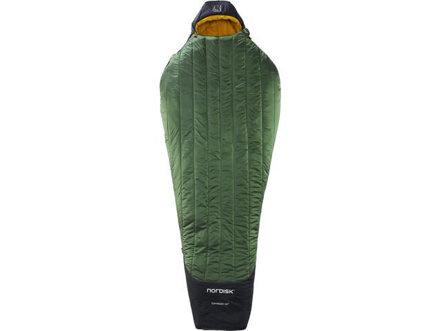 Nordisk Gormsson -10° Mummy Sac de couchage M, artichoke green/mustard yellow/black